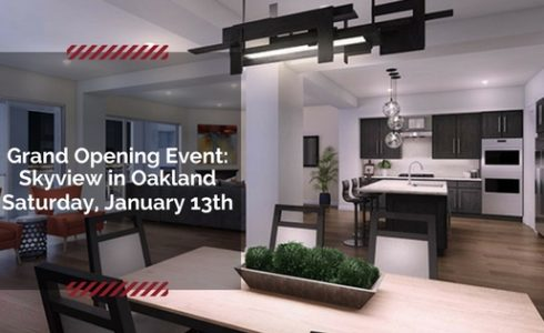 Skyview in Oakland Grand Opening