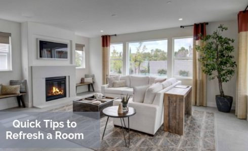 Quick Tips to Refresh a Room