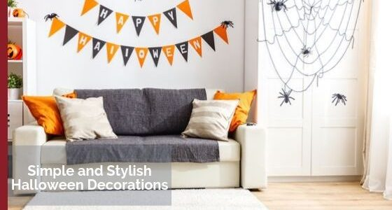 Simple and Stylish Halloween Decorations